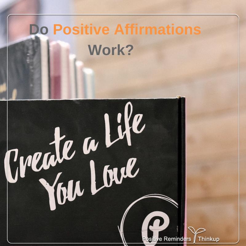 Do positive affirmations work